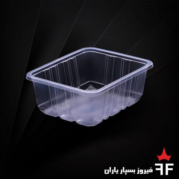 ظروف بسته بندی یکبارمصرف سالاد خشکبار ترشیجات سری N2-200