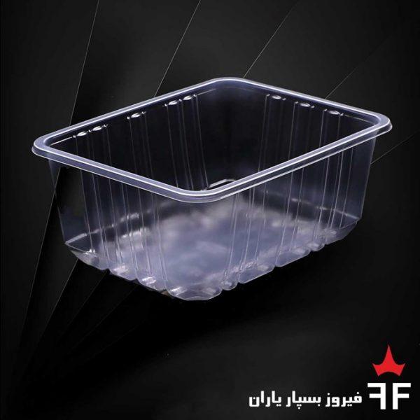 ظروف بسته بندی یکبارمصرف ترشیجات سالاد خشکبار سری N3-400