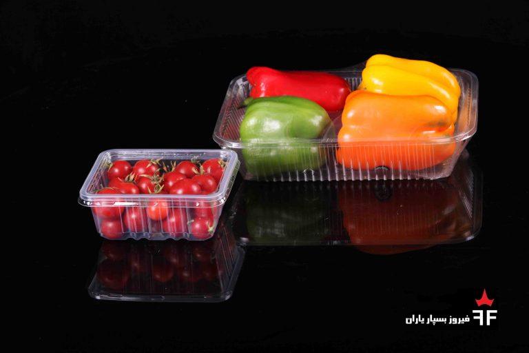 ظروف یکبار مصرف سبزیجات