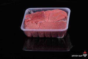 ظروف یکبار مصرف گوشت