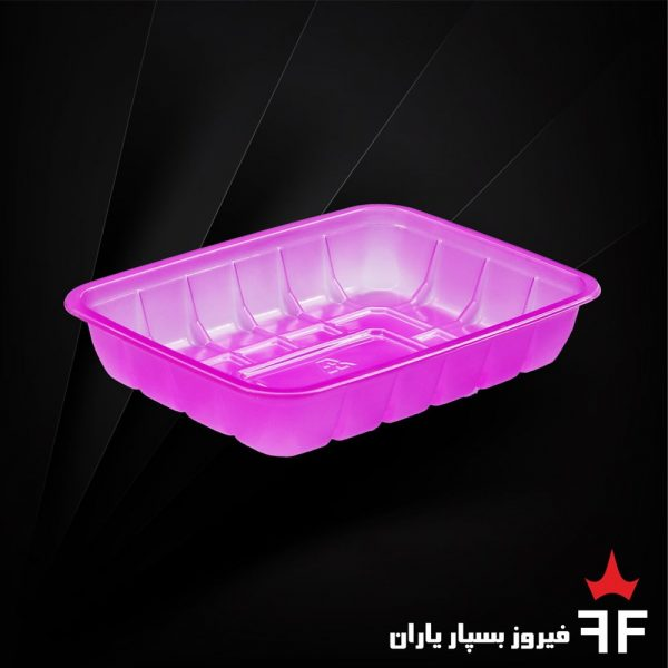 ظروف بسته بندی یکبارمصرف رنگی خشکبار سالاد ترشیجات 1
