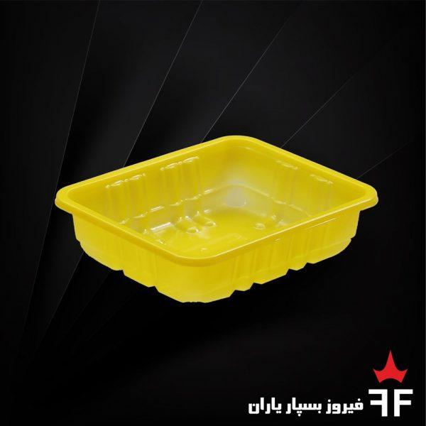 ظروف بسته بندی یکبارمصرف رنگی خشکبار سالاد ترشیجات 3