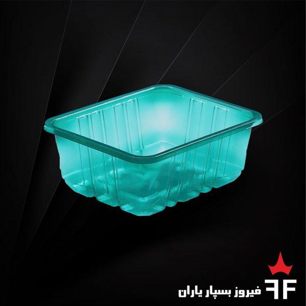 ظروف بسته بندی یکبارمصرف رنگی خشکبار سالاد ترشیجات 4