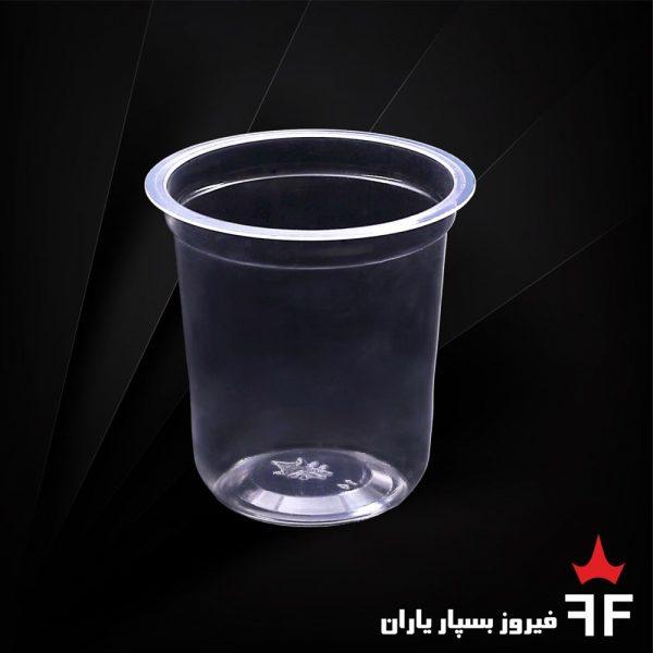 ظروف یکبارمصرف لبنیات و آشامیدنی لیوان سری C1-200