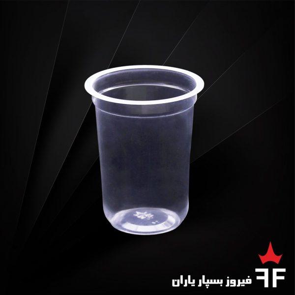ظروف یکبارمصرف لبنیات و آشامیدنی لیوان سری C1-250