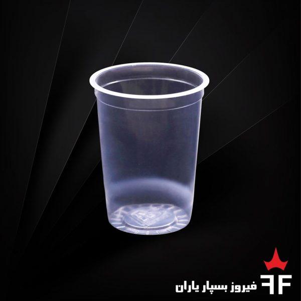 ظروف یکبارمصرف لبنیات و آشامیدنی لیوان سری C2-500