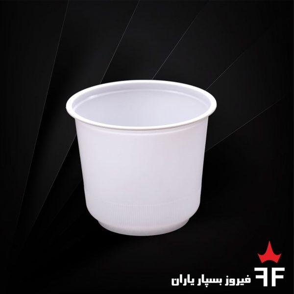 ظروف یکبارمصرف لبنیات و آشامیدنی سری K750