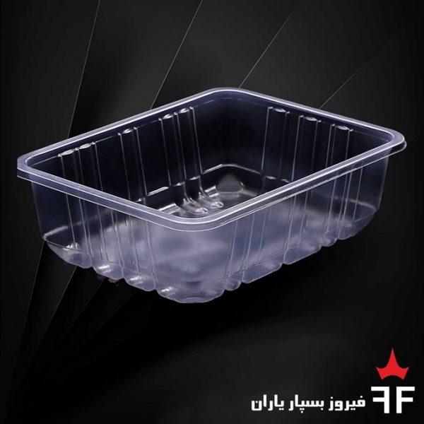ظروف بسته بندی یکبارمصرف سالاد خشکبار ترشیجات سری N2-400