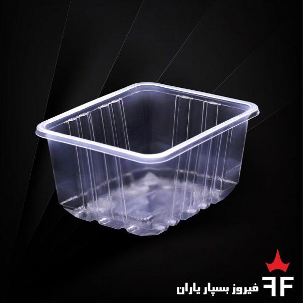 ظروف بسته بندی یکبارمصرف ترشیجات خشکبار سالاد سری N3-200