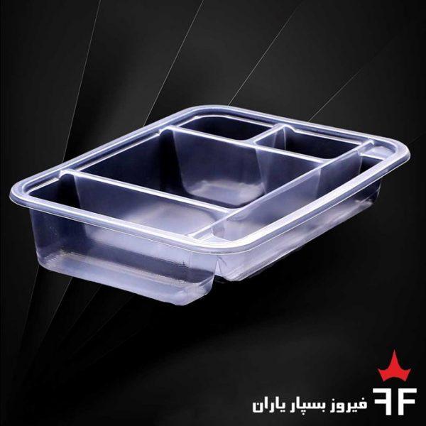 ظروف بسته بندی یکبارمصرف سالاد سزار خشکبار ترشیجات سری T3000