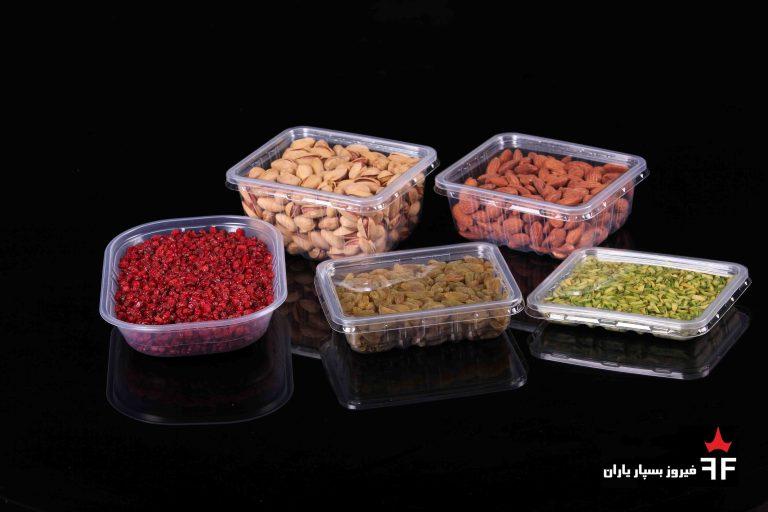ظروف یکبار مصرف خشکبار